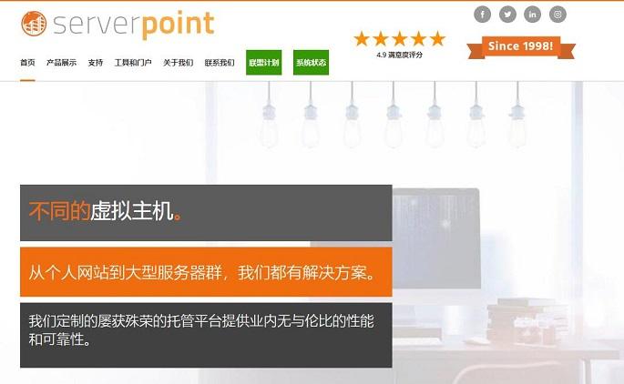 Serverpoint服务器怎么样?