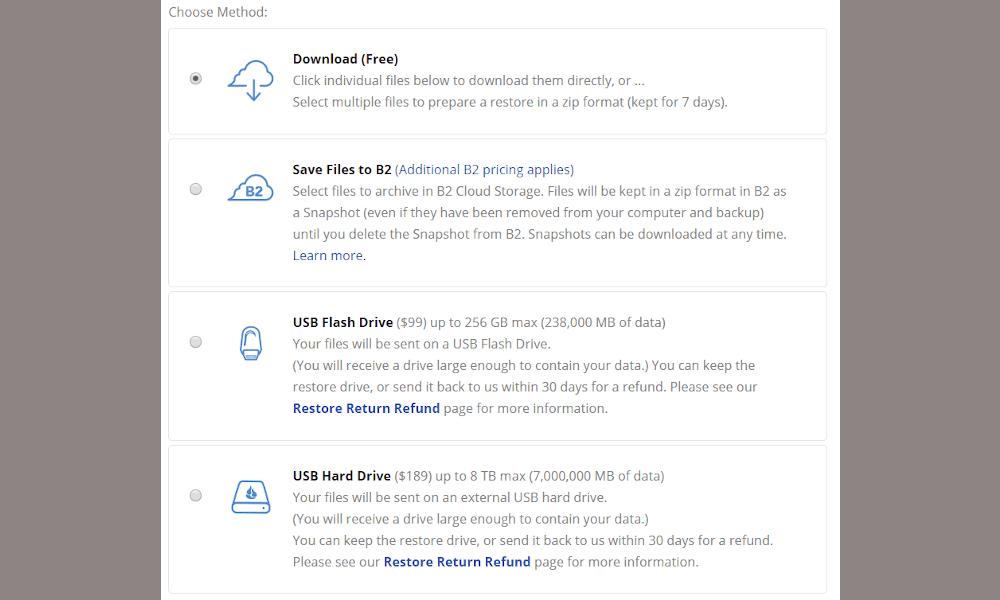 国外免费存储平台Backblaze