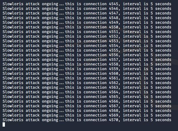 Kali Linux ddos 攻击教程