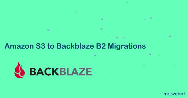 从 Amazon S3 迁移到 Backblaze B2 | 移动机器人 | 沙发滴
