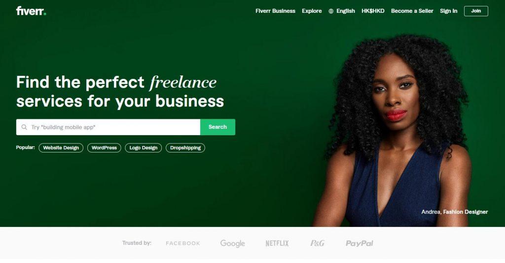 在 Fiverr上赚钱的15 种方法
